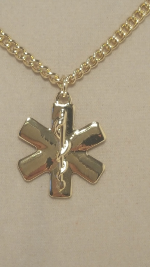 Star of life pendant necklace cohesive jewels shopchic designer star of life pendant necklace aloadofball Image collections
