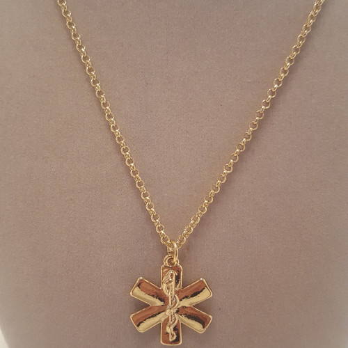 Cohesive jewels shopchic designer fashion jewelry excellent value star of life pendant necklace aloadofball Image collections