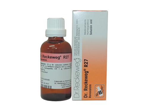 DR. RECKEWEG R27 RENOCALCIN GOTAS 50ML