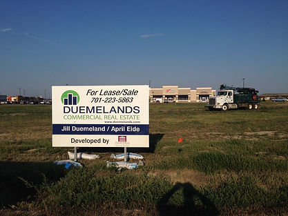 Duemelands Site Sign Watford.JPG