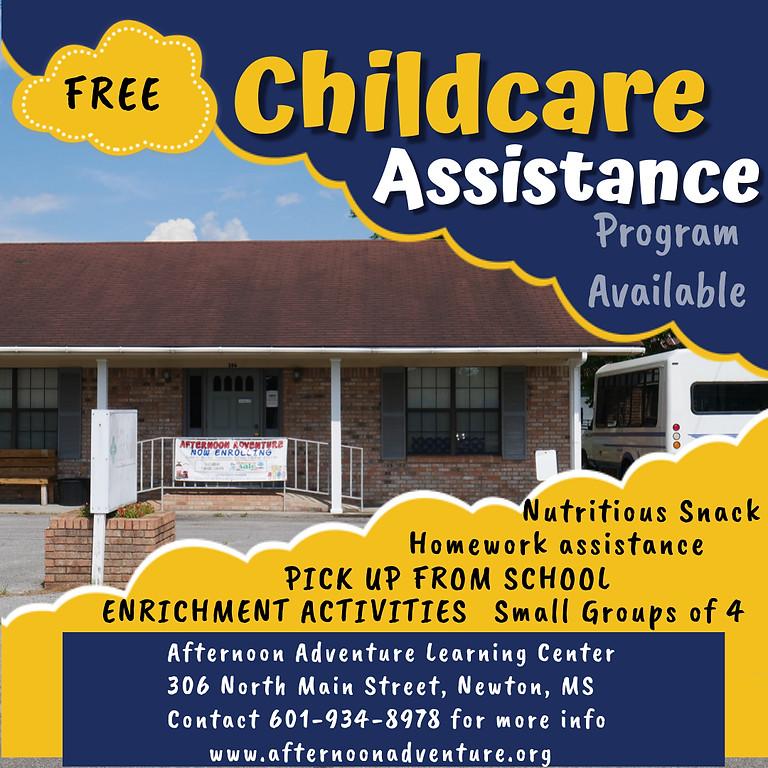 Child Care Assistance Program Registration