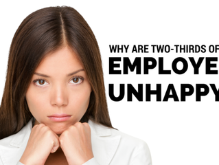 Why are two-thirds of my company employees unhappy?
