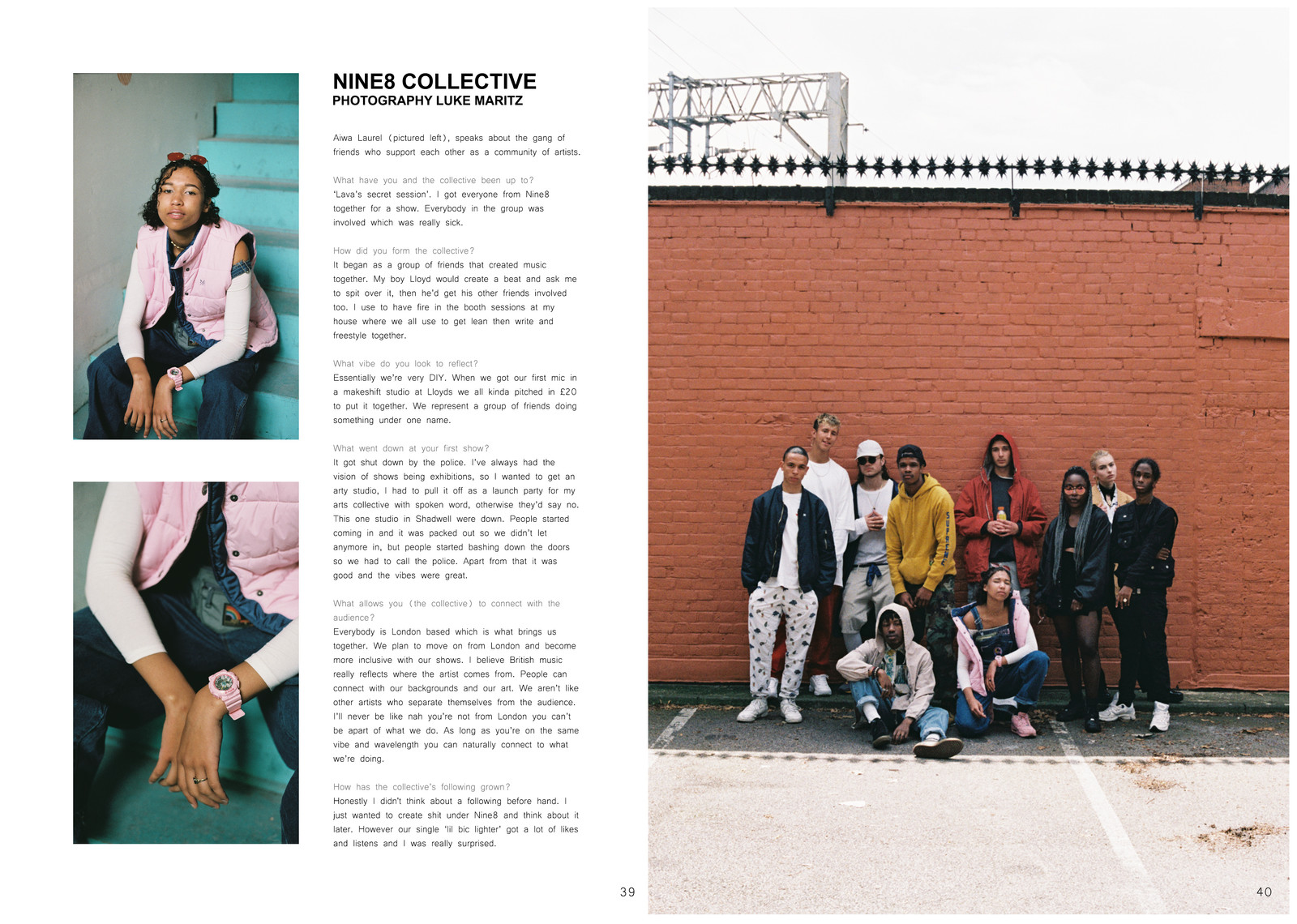 NiNE8 FEATURE IN