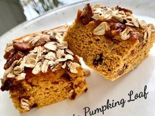 GF Protein Pumpkin Loaf!