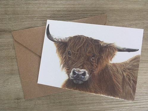 Hamish - Greetings Card