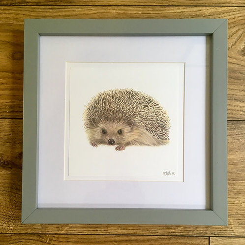 'Rupert' - Framed mini print