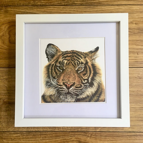 'Call of the Wild' Framed mini print