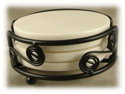 White_Marble_Coaster_Set_White