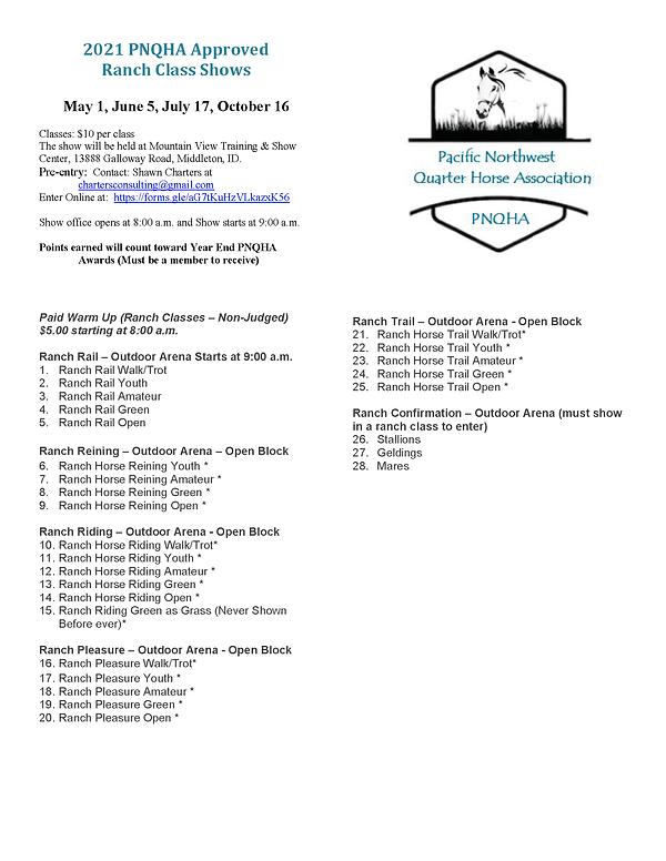 PNQHA Ranch Class List.png