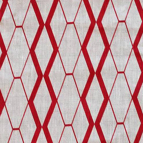 Assorted Linen | Salmi Diamond Red