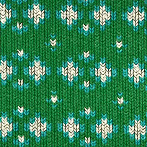 Organic | Plain Stitches Granny Made Grass Green