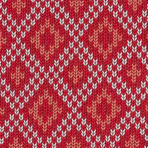 Organic | Plain Stitches Nordic Red
