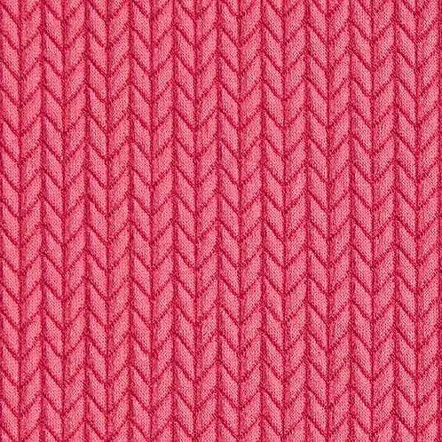 Organic | Big Knit Pink