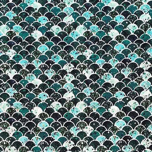 Fully Washable | Sea Scales Indigo