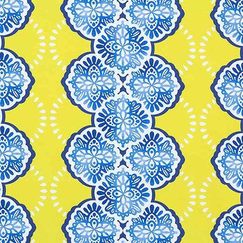 Organic   Weekender Adora Yellow & Blue
