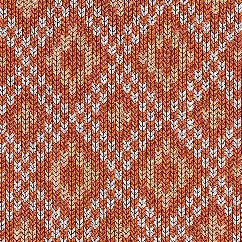 Organic   Plain Stitches Nordic Terracotta