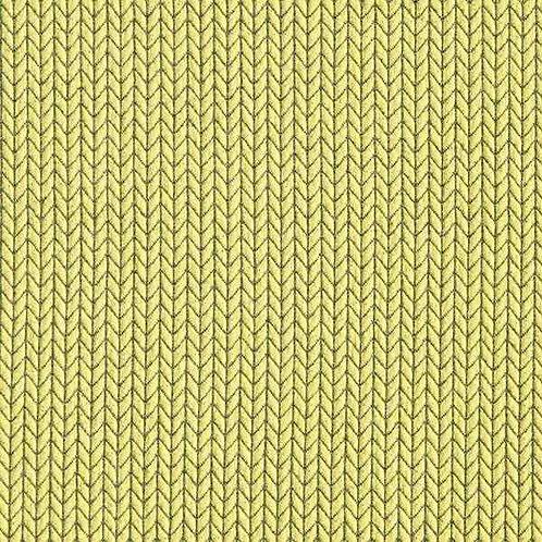 Organic | Big Knit Yellow