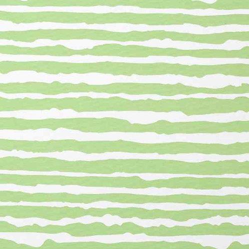 Organic | Stripes Apple Green