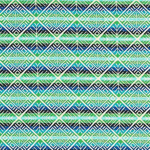 Organic | Plain Stitches Snowflake Green