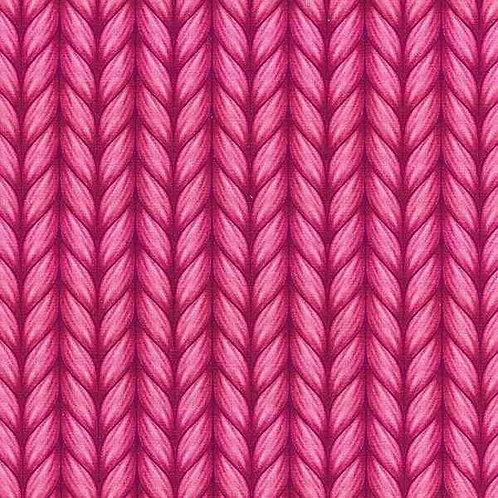 Organic | Plain Stitches Lookalike Pink