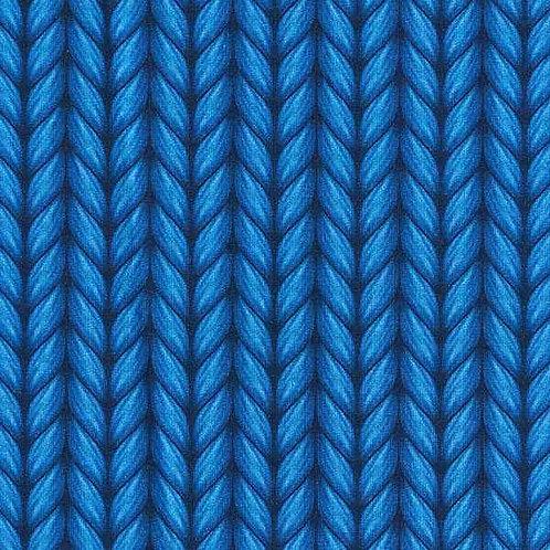 Organic | Plain Stitches Lookalike Royal Blue