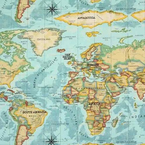 Fully Washable   Atlas Azure