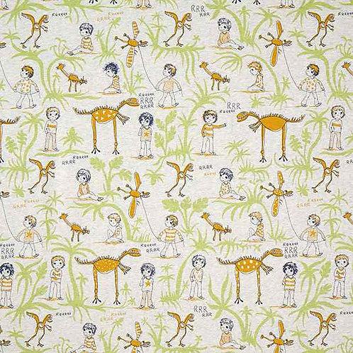 Organic | Cotton Dino Dream Grey
