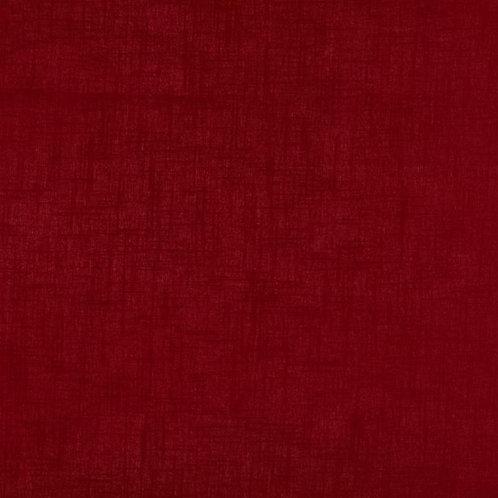 Plain Linen | Dark Red