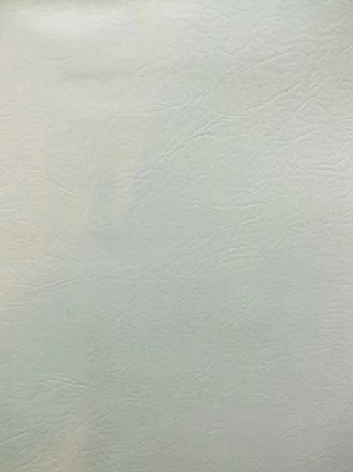 Premium Faux Leather | White