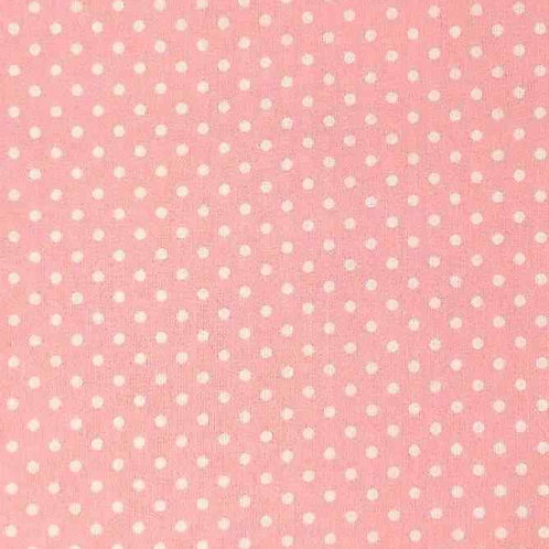 Fully Washable | Sweet Pea Dot Candy Pink