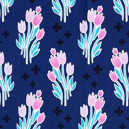 Organic | Life Loves You Bouquet Navy Blue