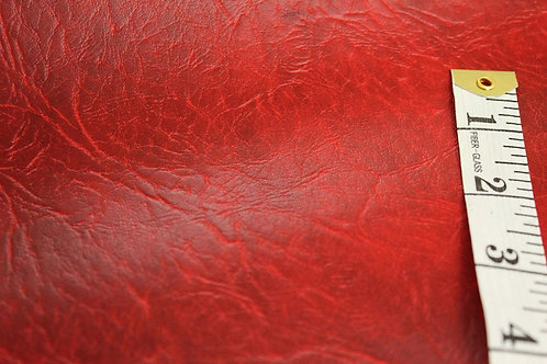 Premium Faux Leather | Red