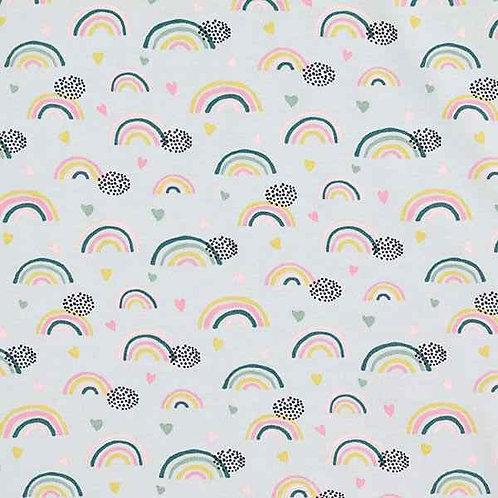 Organic | Rainbow and Hearts Grey