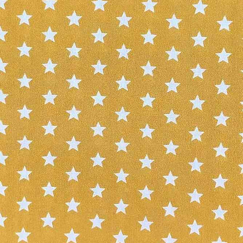 Fully Washable | Small Star Mustard Gold