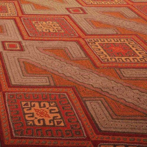 Aztec   Geometric Orange JO-219