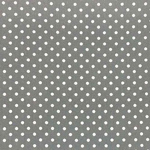 Fully Washable | Sweet Pea Dot Dark Grey