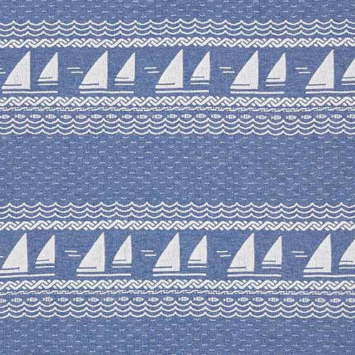 Organic   Ahoi Sail Away - Denim Blue