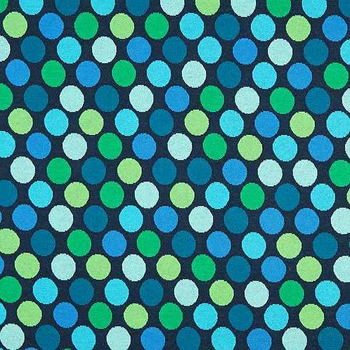 Organic | Plain Stitches Ball Pool Blue & Green