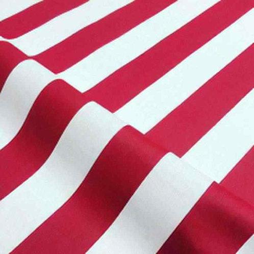 Waterproof Sundec/Sunbrella | Stripes Red