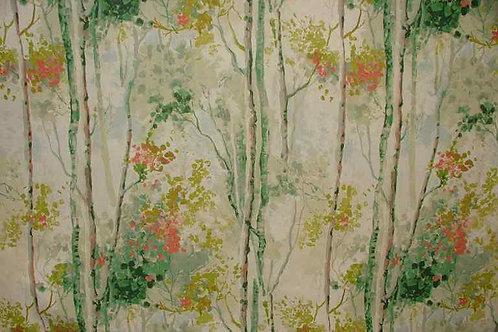 Prestige Cotton Print   Birch Tree Willow