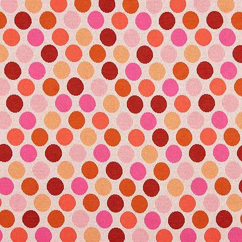 Organic | Plain Stitches Ball Pool Cream & Pink