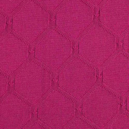 Organic | Plain Stitches Cross Knitty Cotton Knit Berry