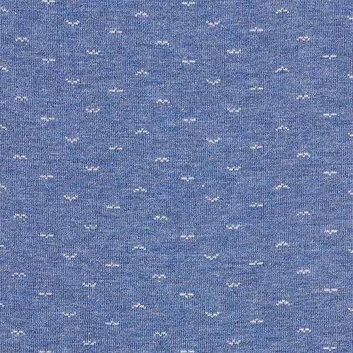 Organic   Ahoi Seagulls - Denim Blue