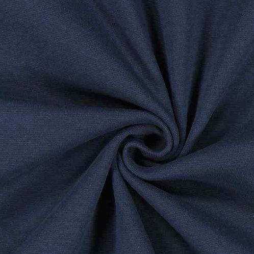 Organic | Smooth Ribbing Navy Blue