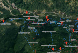 Map of 4x4 trails