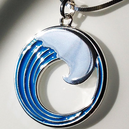 Blue Wave Era Pendant