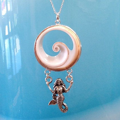 Mermaid suspended from SOL Wave