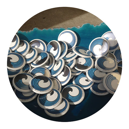 Blue Wave Buttons