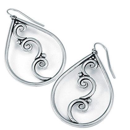 Tears with Swirls Earrings
