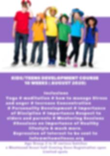 Purple Kids Photo Elementary School Fund
